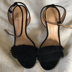 NEW Banana Republic suede strappy sandals
